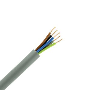 YMvK-MB kabel 3-fase 5-aderig