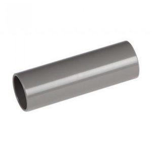Sok installatiebuis 19mm slagvast grijs
