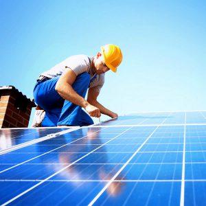Volledige installatie zonnepanelen